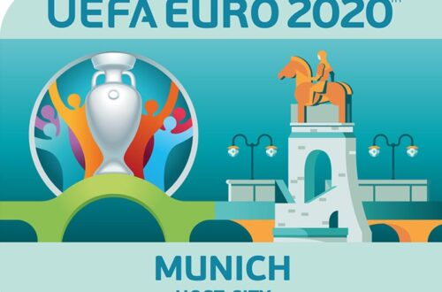 Ulotka stadion gospodarza Euro 2020 Monachium