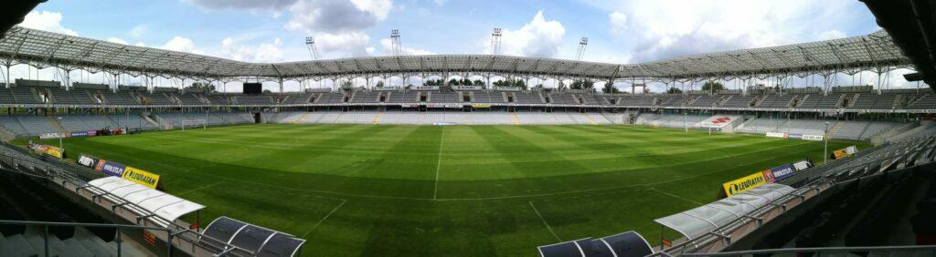 anorama stadionu Suzuki Arena wKielcach