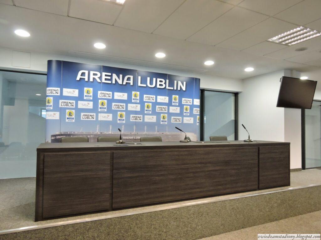 Sala konferencyjna Arena Lublin