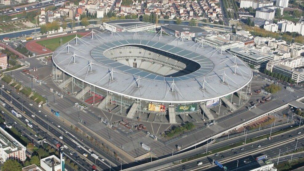 stadion Stade De France zLotu ptaka