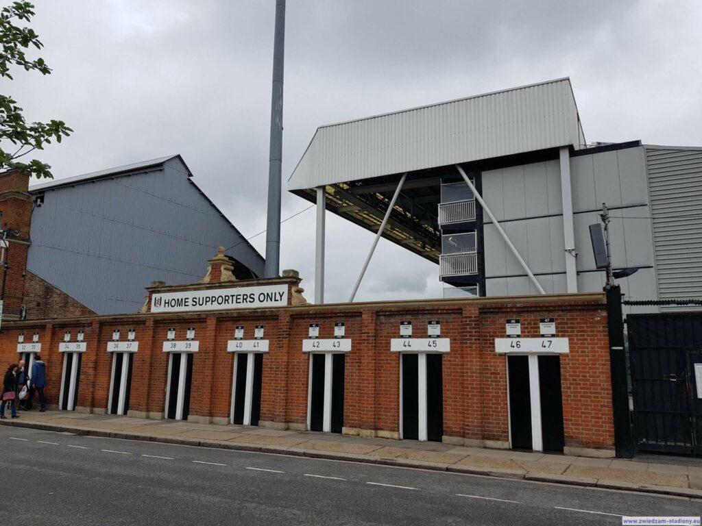 Trybuna gospodarzy Fulham