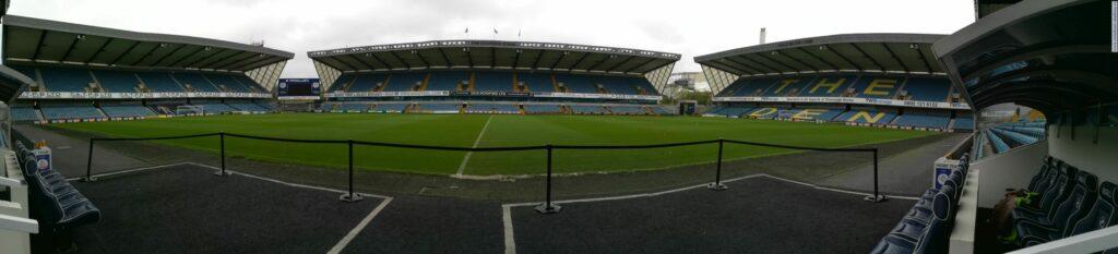 panorama stadionu Millwall -The New Den