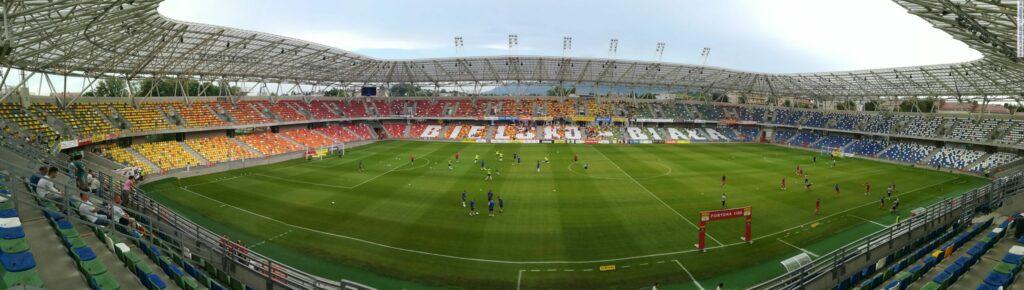 panorama stadionu Podbeskidzia