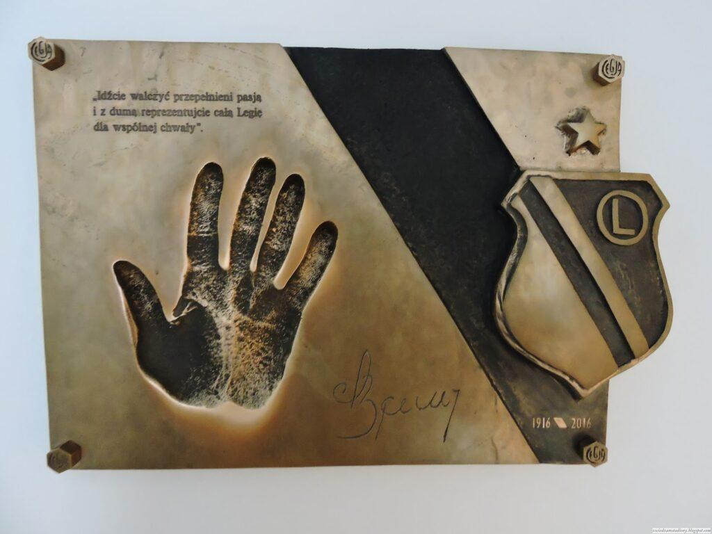 dlew dłoni Lucjana Brychczego
