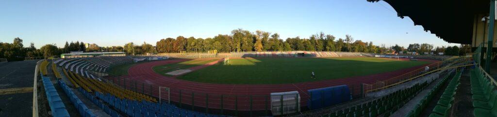 panorama stadionu Hetmana Zamość