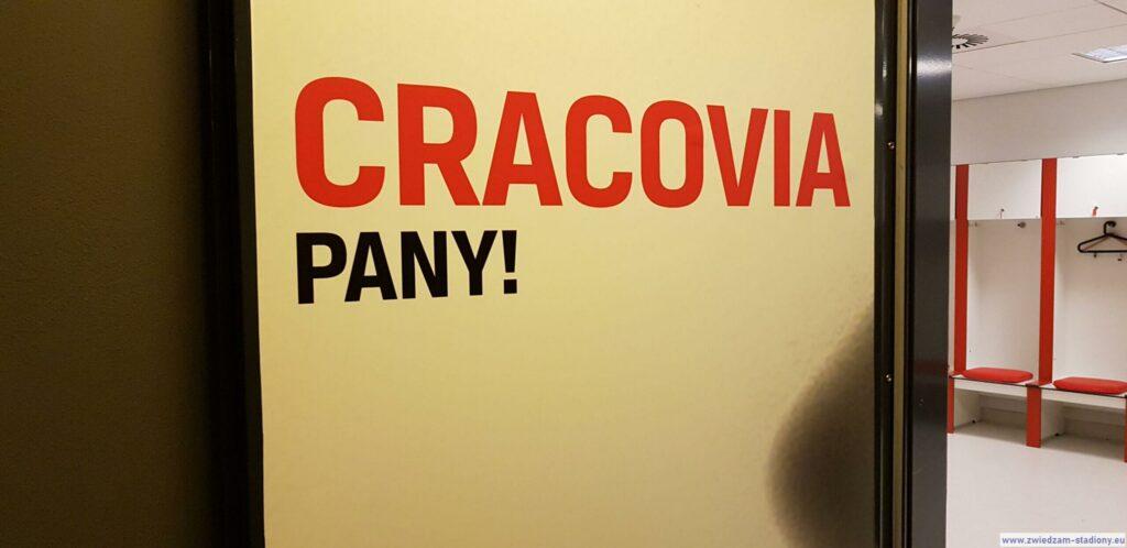 wejście doszatni Cracovii