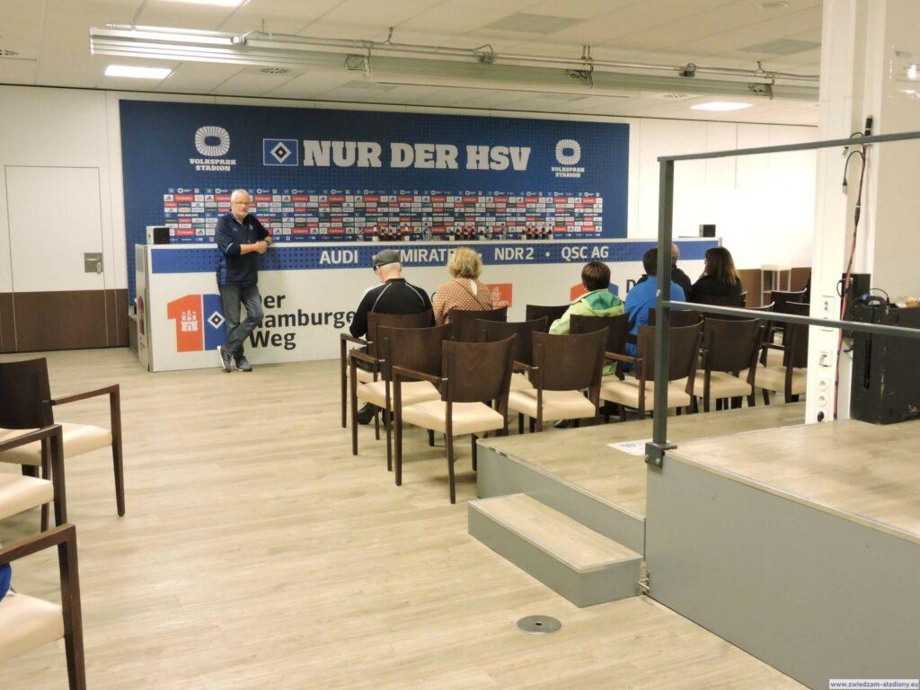 sala konferencyjna na stdionie HSV