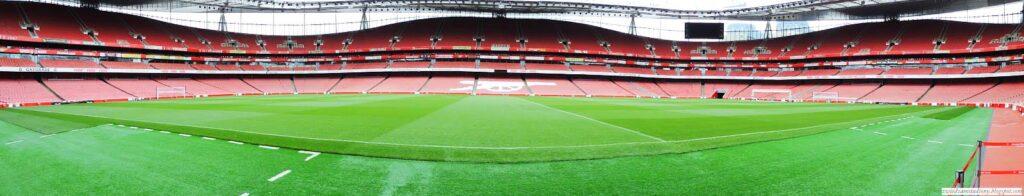 panorama stadionu Emirates Stadium