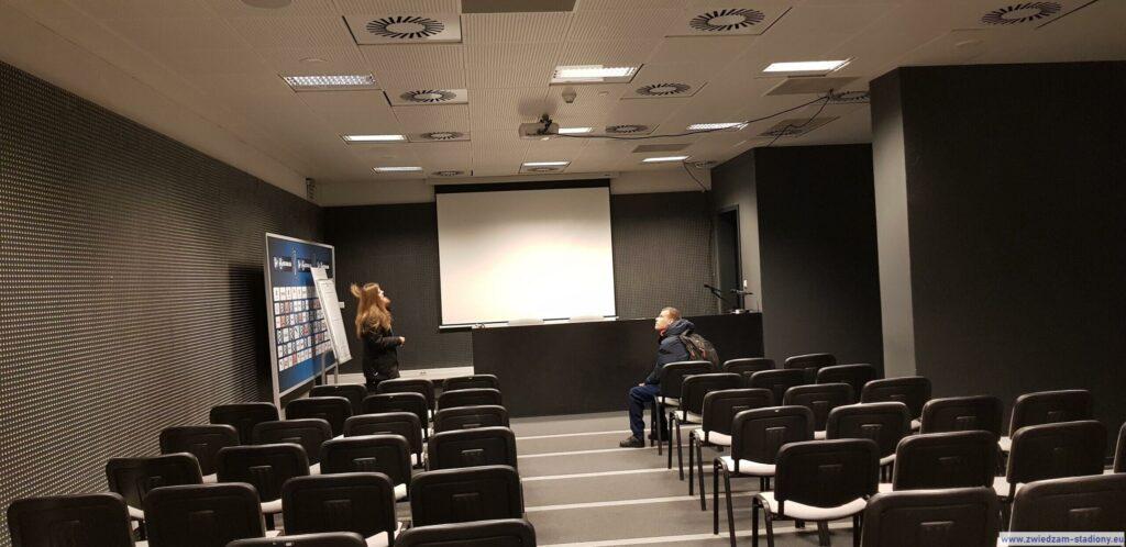 sala konferencyjna nastadionie Cracovii