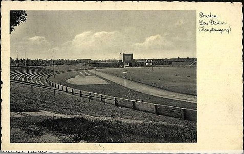 stadion Wrocław olimpijski z czasów okupacji niemieckiej