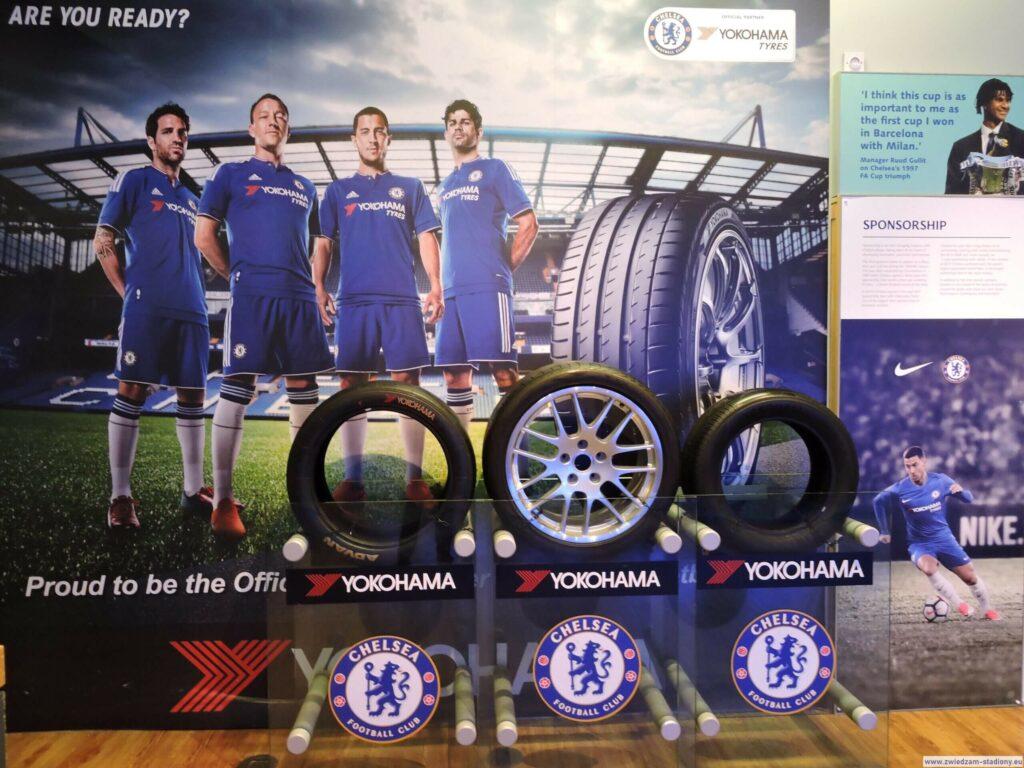 stoisko sponsora głównego Chelsea
