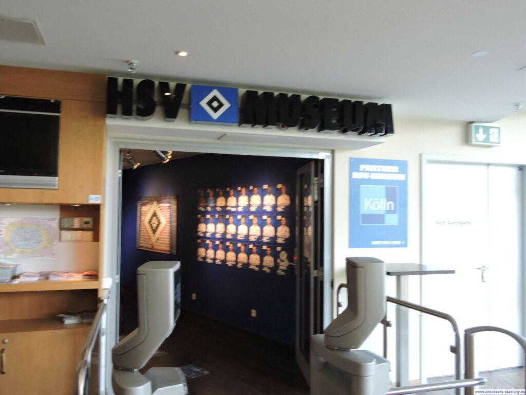 wejście do muzeum HSV Hamburg