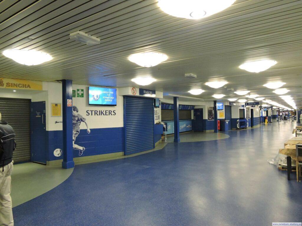 aplecze stadionu Stamford Bridge