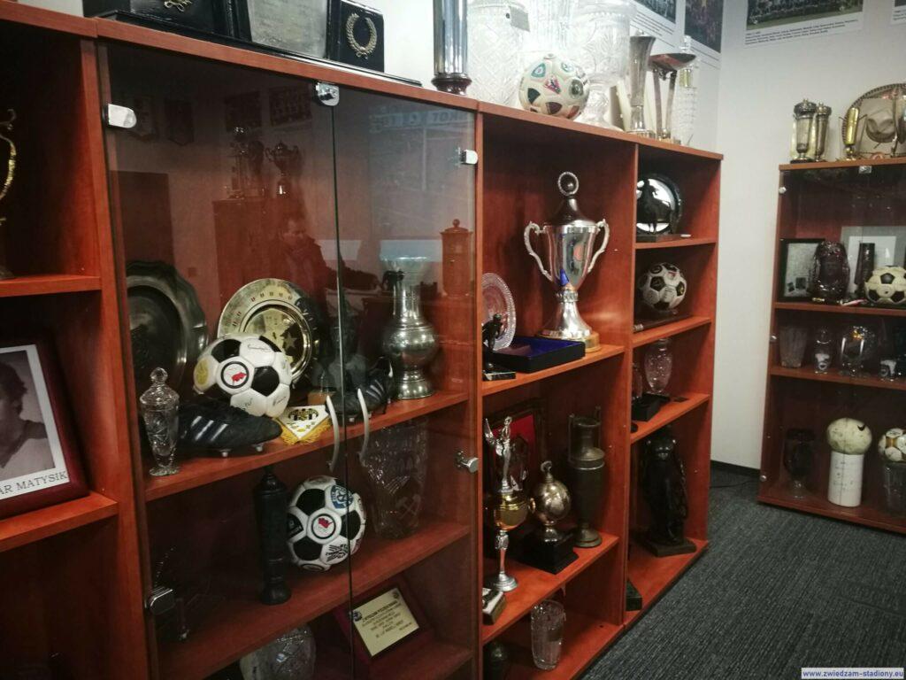 galeria trofeów Górnika Zabrze