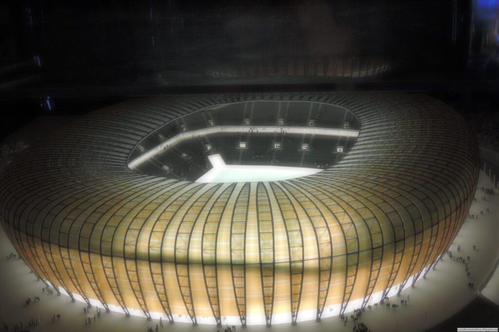 Makieta nowego stadionu