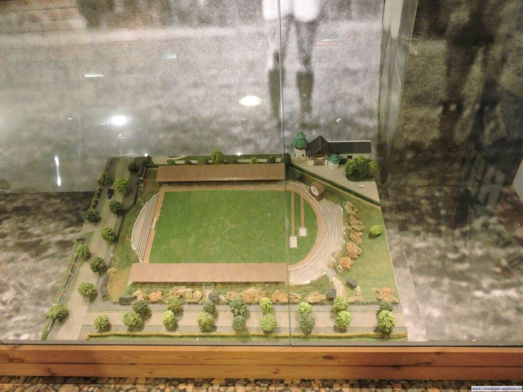 makieta starego stadionu HSV Hamburg