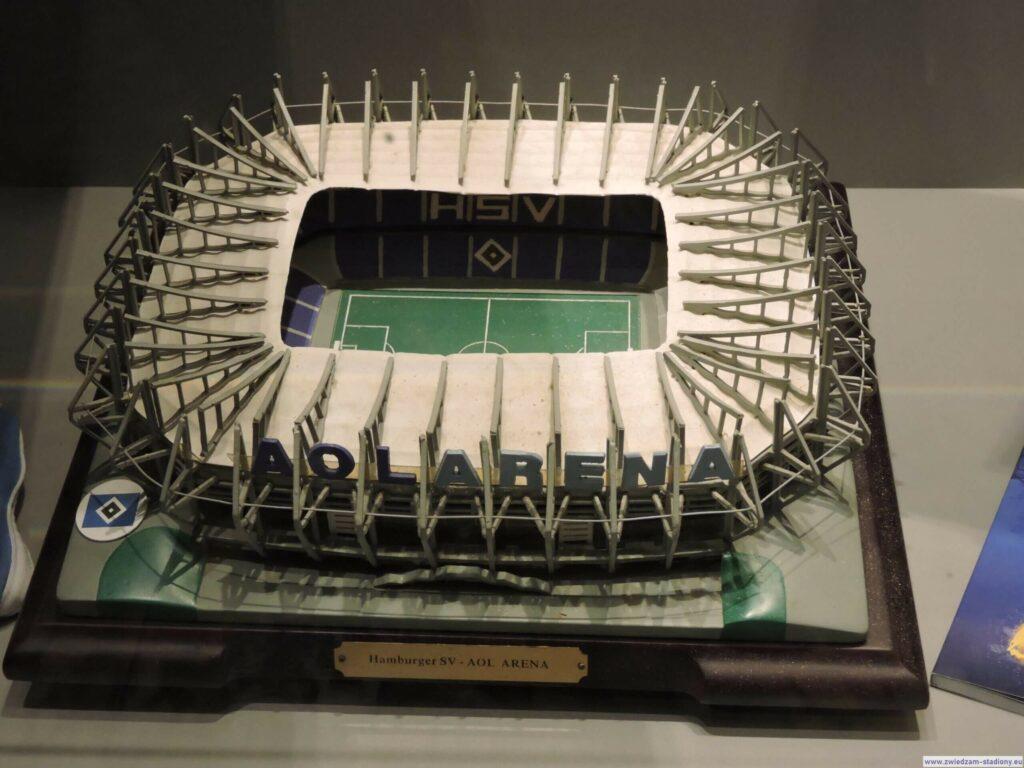 makieta nowego stadionu HSV Hamburg