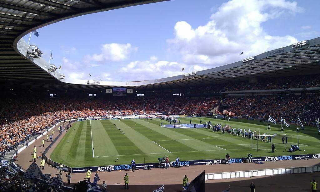 Stadion podczas Igrzysk Brytyjskich
