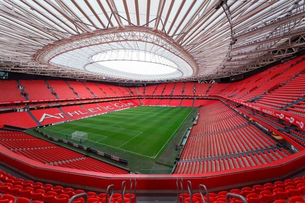 panorama stadionu San Mames