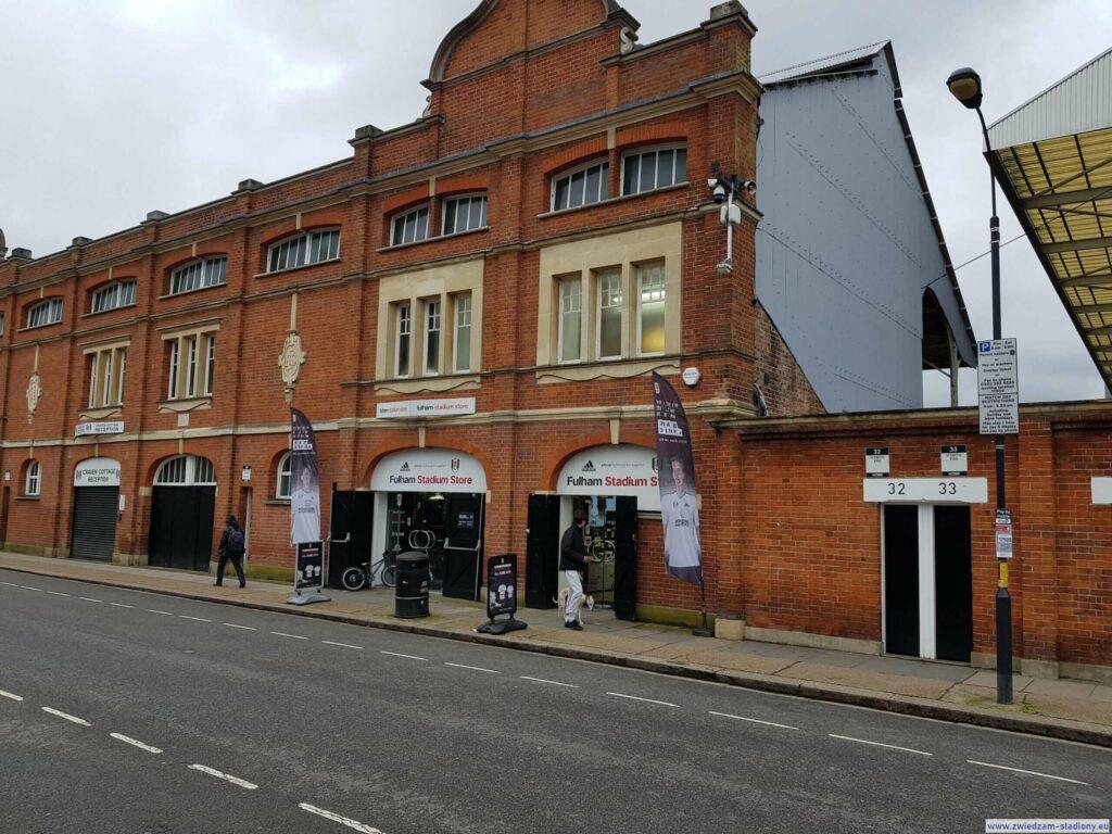 Sklep kibica Fulham