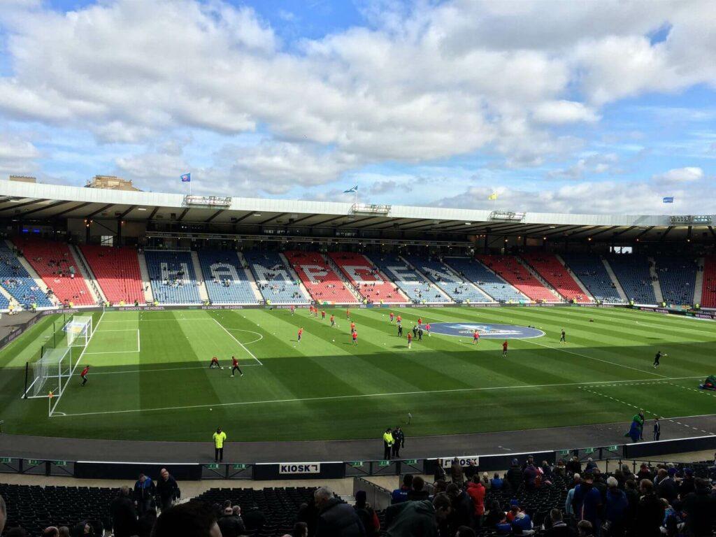 trybuny stadionu narodowego Szkocji