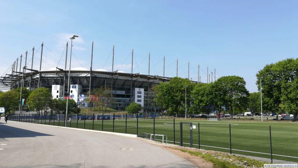 boisko treningowe drużyny HSV Hamburg