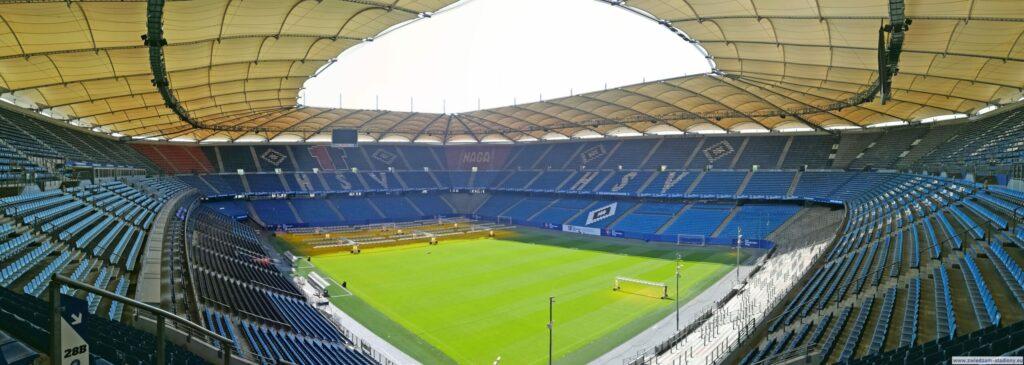 panorama stadionu HSV Hamburg