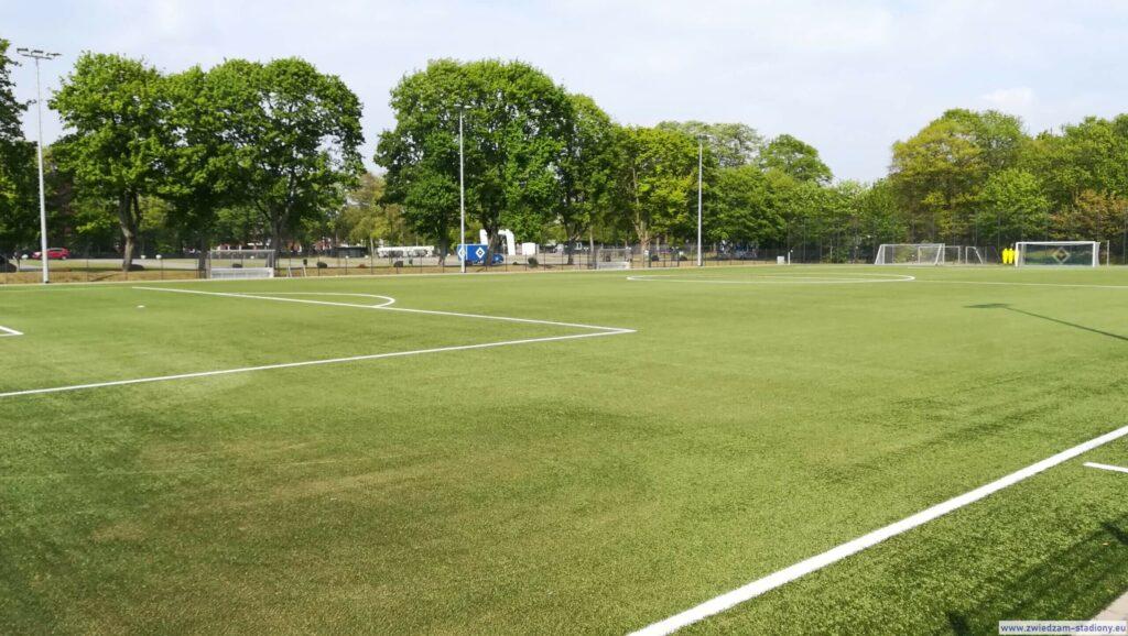 boisko akademii piłkarskiej HSV Hamburg