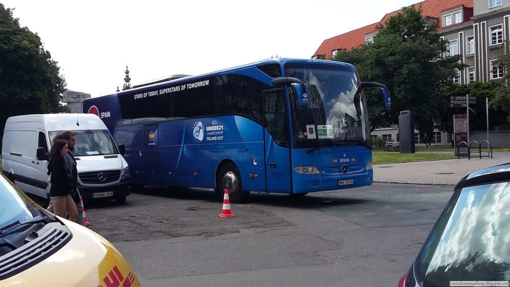 autobus reprezentacji Hiszpanii