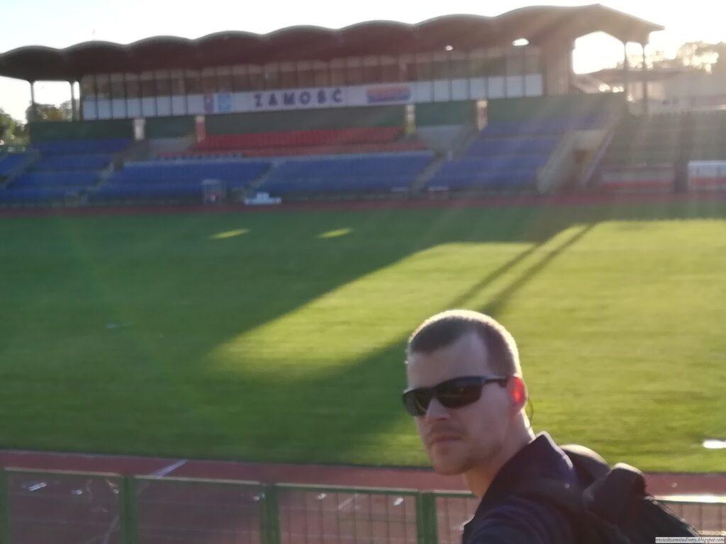 autor bloga nastadionie Hetmana Zamość