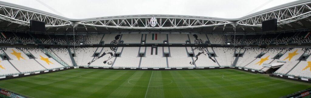 Panorama stadionu