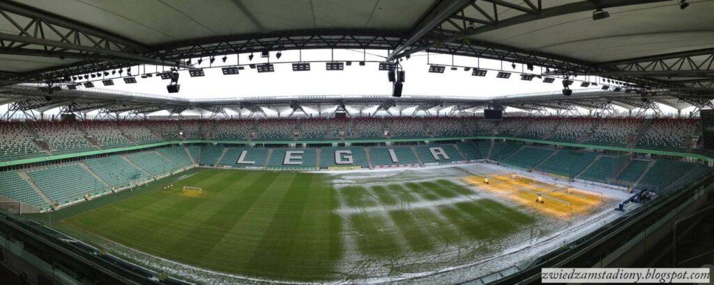 panorama stadionu Legii Warszawa
