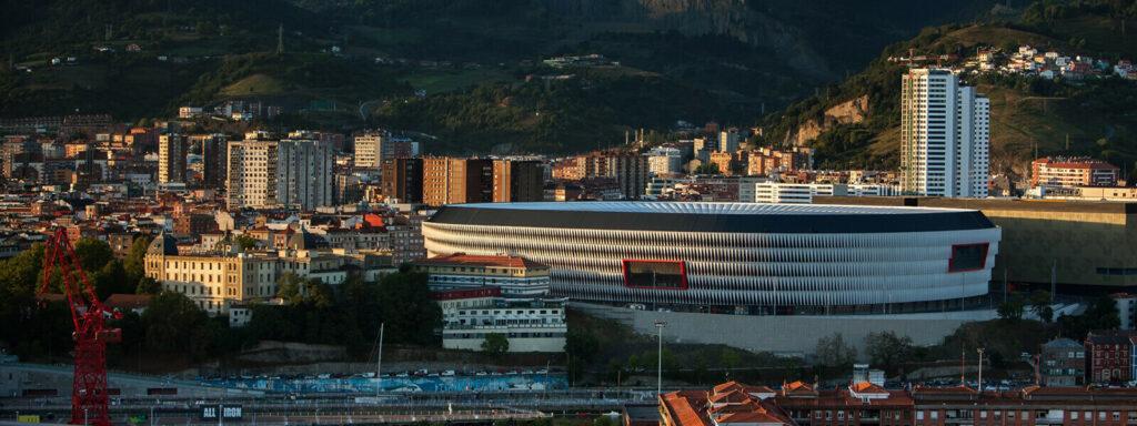 stadion San Mames widok namiasto