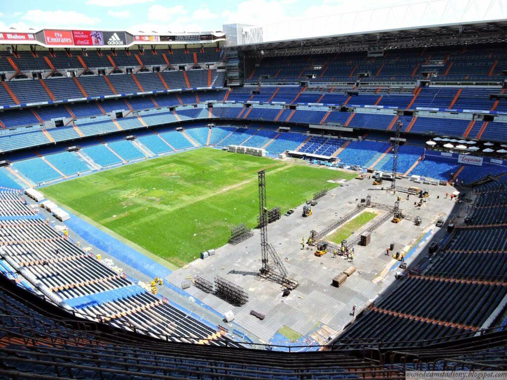 Taras widokowy na stadionie Santiago Bernabeu