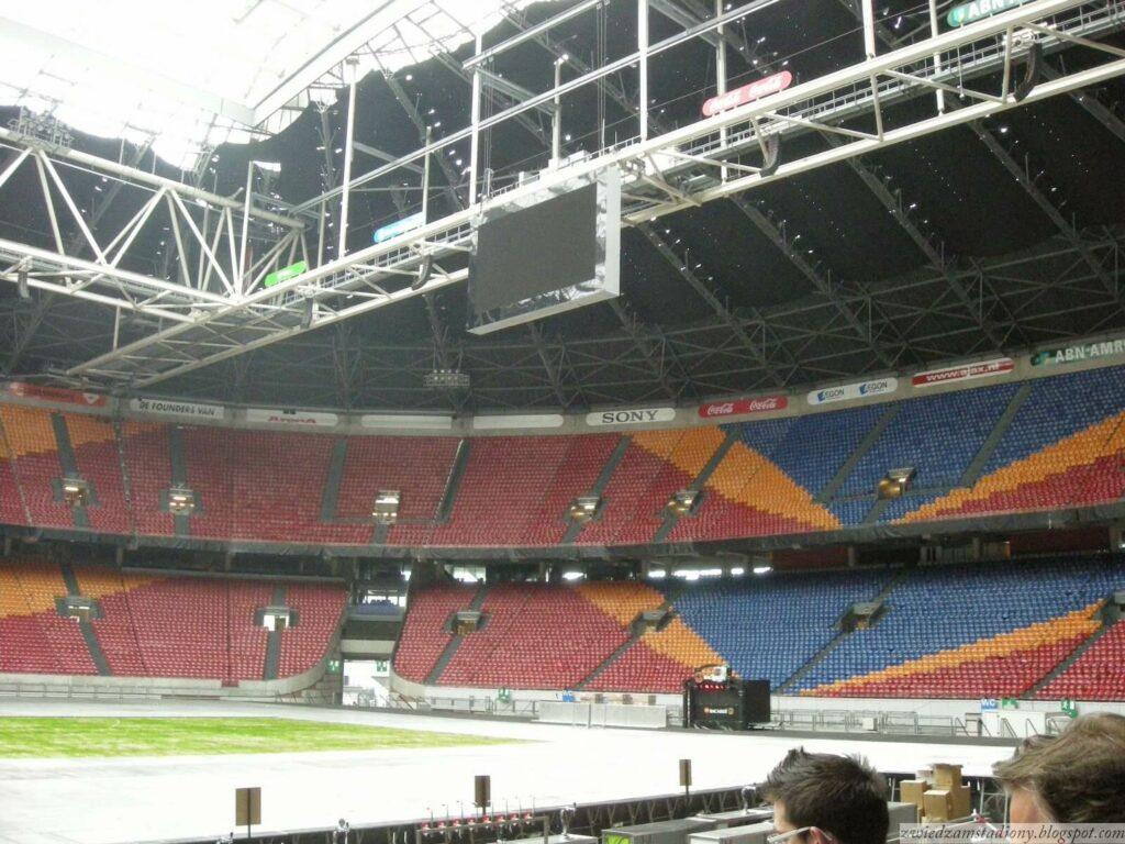 trybuny stadionu Johan Cruyf Arena