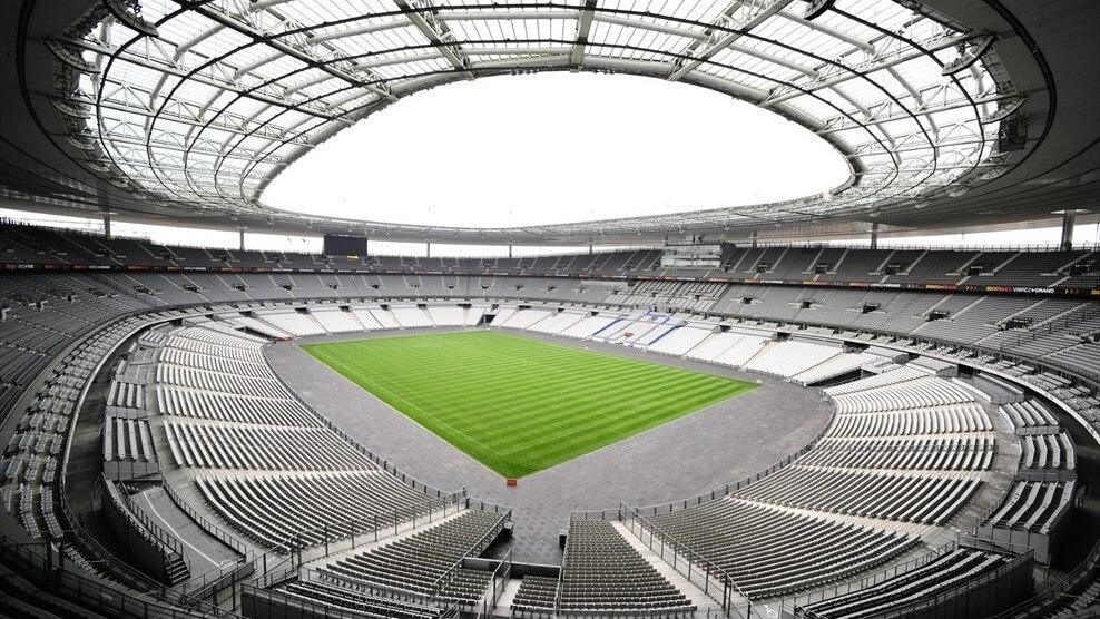 trybuny stadionu Stade De France