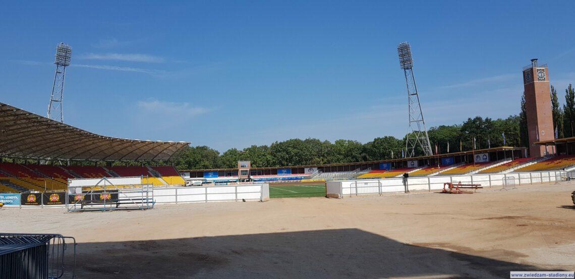 widok na stadion olimpijski