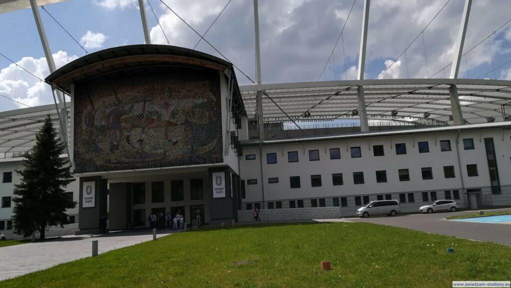 budynek klubowy stadionu śląskiego