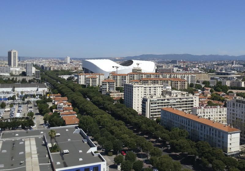 Stade De Velodrome wmieście