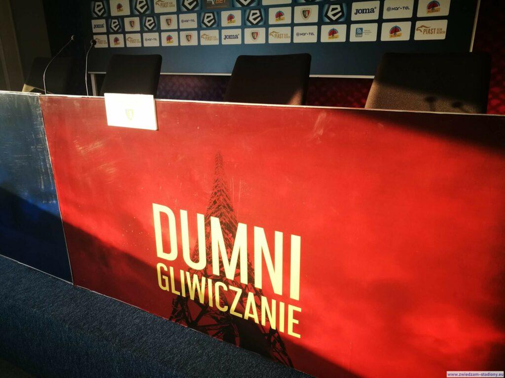 hasło reklamowe klubu z Gliwic