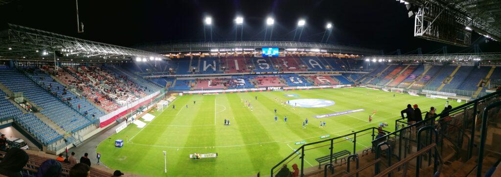 panorama stadionu Wisły Kraków