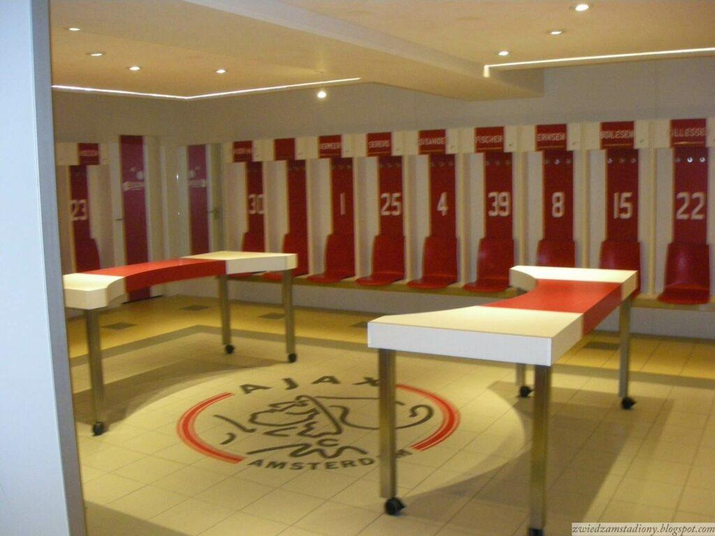 sala odpraw zespołu Ajax Amsterdam