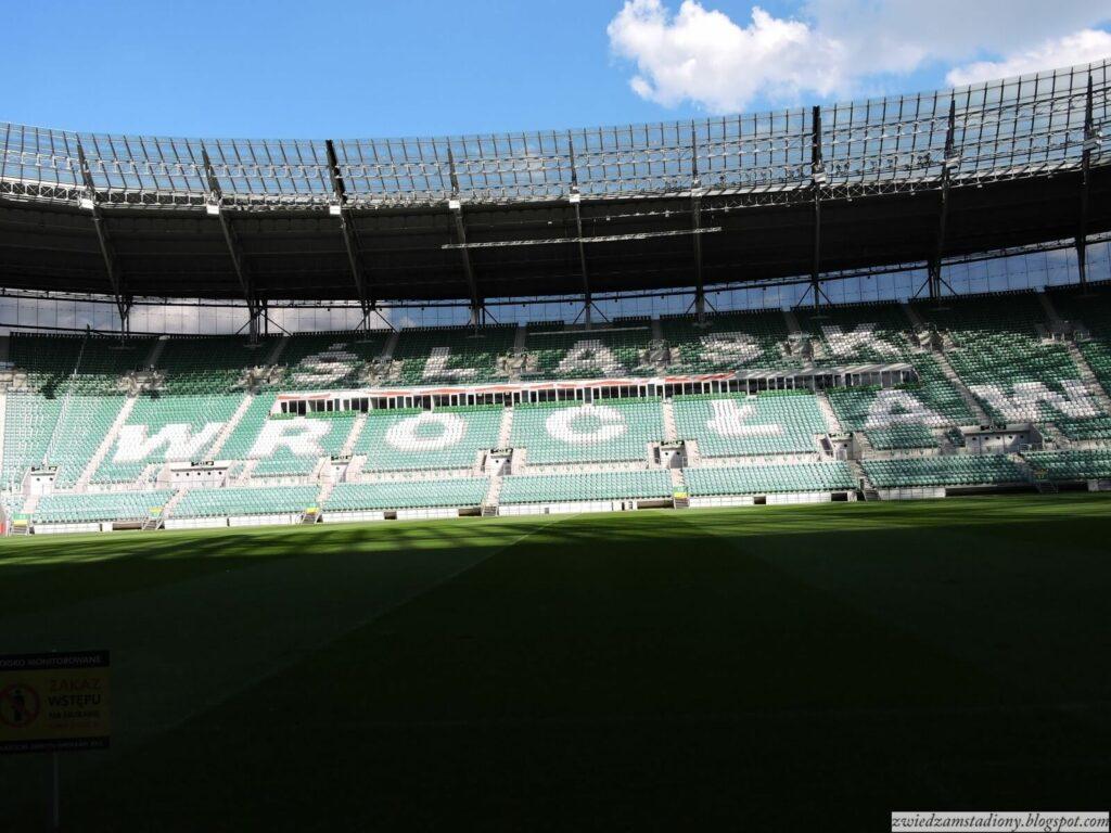 rybuny stadionu Śląska Wrocław
