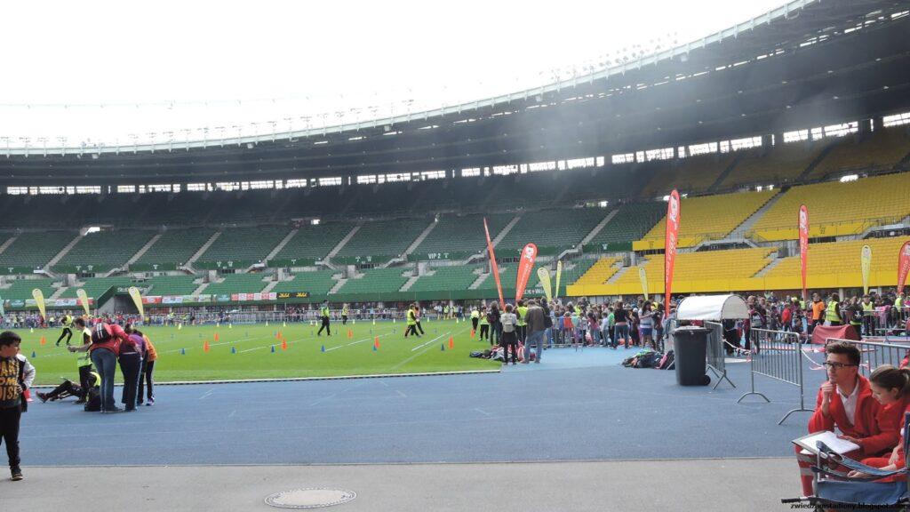 Zawody na stadionie narodowym Ernsta Happela w Wiedniu