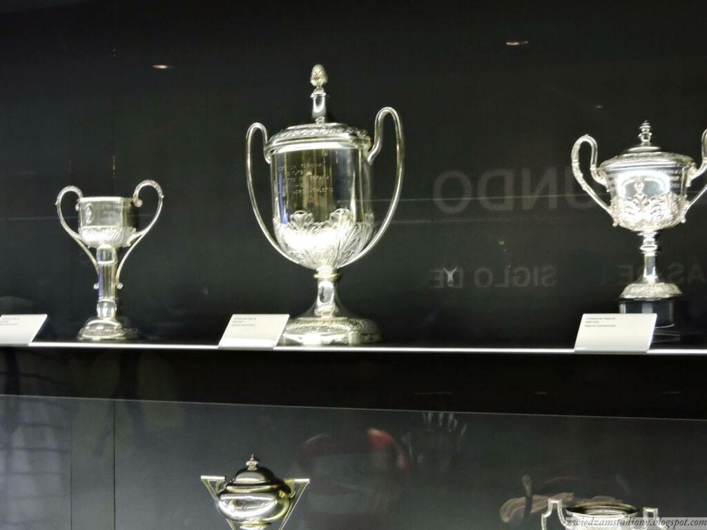gablota trofeów Realu Madryt