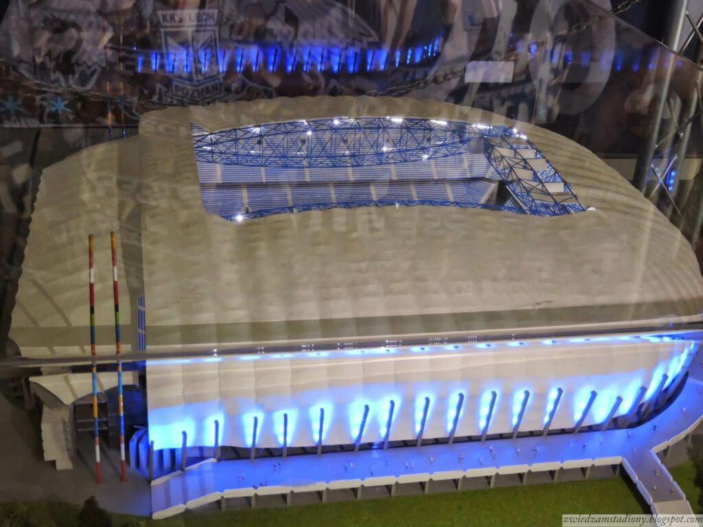 Makieta stadionu Lecha