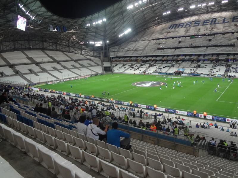 trybuny stadionu Stade De Velodrome