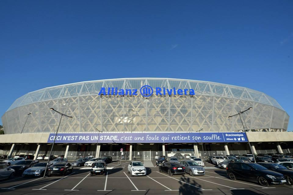 fasada stadionu wNicei