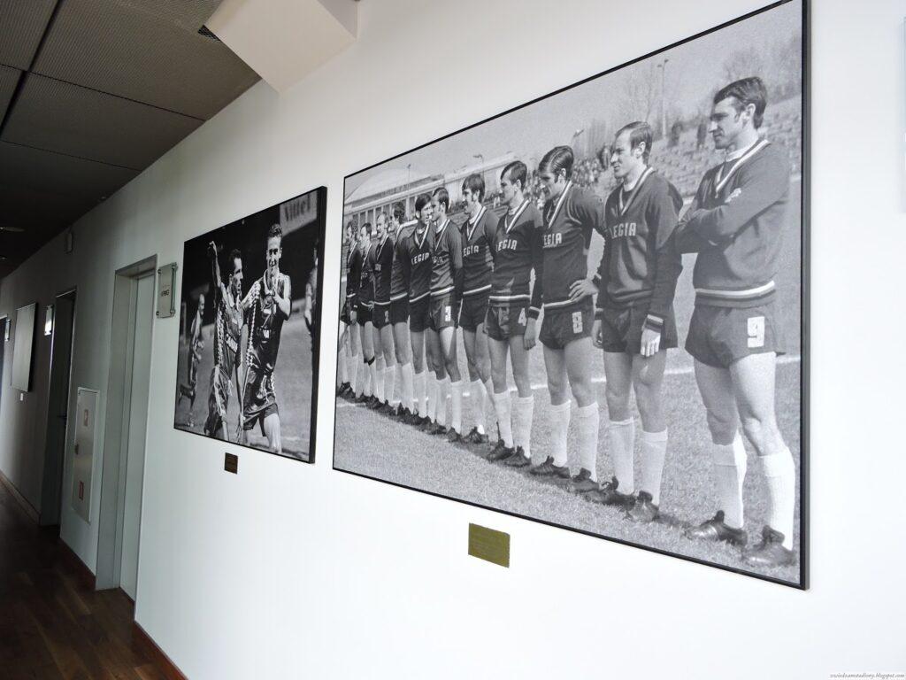 galeria zdjęć zespołu Legii w loży VIP