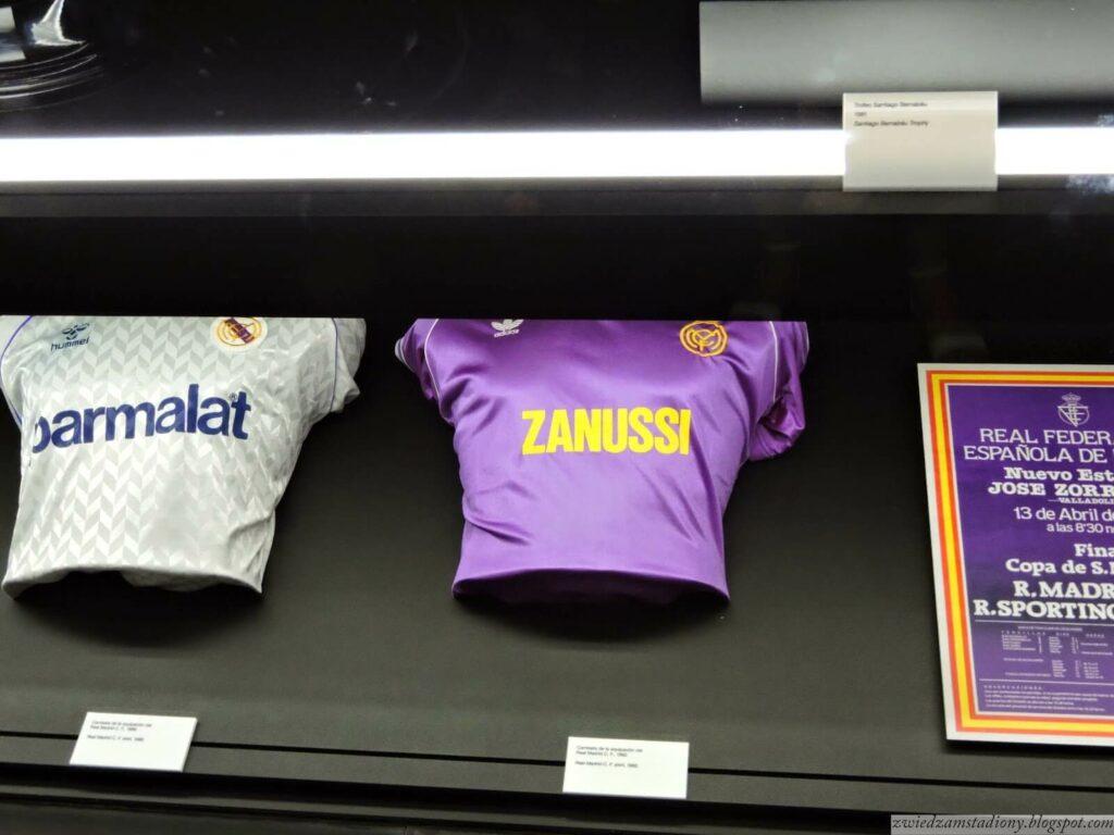 pamiątkowe koszulki Realu Madryt